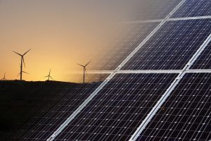 Wind and Solar Green Energy